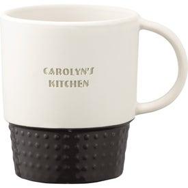 Hobnail Ceramic Mug (12 Oz.)