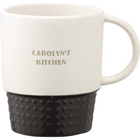 Hobnail Ceramic Mug Printed with Your Logo