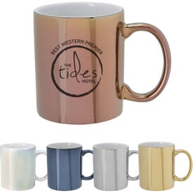 Iridescent Ceramic Mugs (12 Oz.)