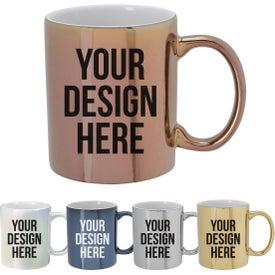 Iridescent Ceramic Mug (12 Oz.)