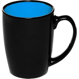 Java Two-Tone Black Coffee Mug (12 Oz.)