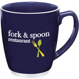 Large Color Bistro with Accent Mug Giveaways