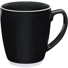 Large Color Bistro with Accent Mug