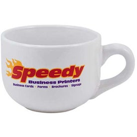 Latte White Mug (16 Oz.)