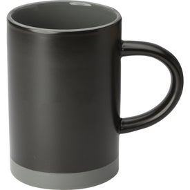 Lotus Two Tone Ceramic Mug (15 Oz.)