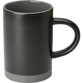Lotus Two Tone Ceramic Mug (15 Oz.)