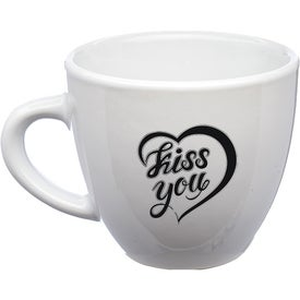 Love Is All Espresso Mugs (2 Oz., White)