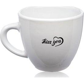 Love Is All Espresso Mug (2 Oz., White)
