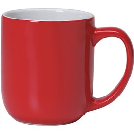 Majestic Mug (17 Oz., Red/White)