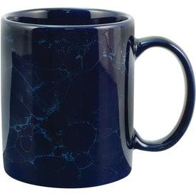 Marble Mug (11 Oz., Cobalt)