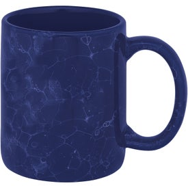 Marble Ironstone Mug Branded with Your Logo