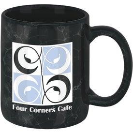 Custom Marble Ironstone Mug