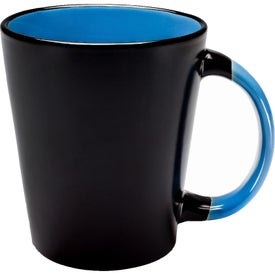 Matching Handle Two-Tone Latte Mug (13 Oz.)