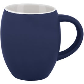 Matte Barrel Ceramic Mug for your School