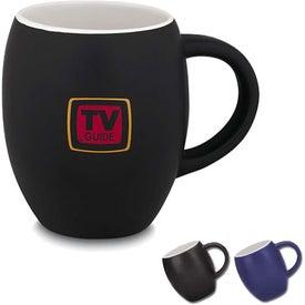 Monogrammed Matte Barrel Ceramic Mug