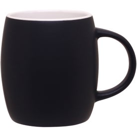 Matte Black Joe Ceramic Mug for Your Organization
