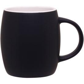 Matte Black Joe Ceramic Mug for Your Organization