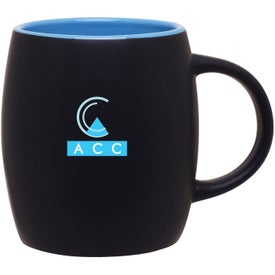 Advertising Matte Black Joe Ceramic Mug