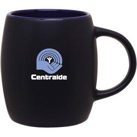 Matte Black Joe Ceramic Mug for Advertising