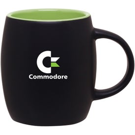 Matte Black Joe Ceramic Mug for Marketing