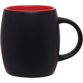 Personalized Matte Black Joe Ceramic Mug