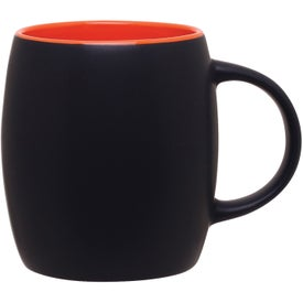 Custom Matte Black Joe Ceramic Mug
