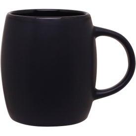 Personalized Matte Black Joe Ceramic Mug