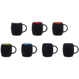 Matte Black Joe Ceramic Mug (14 Oz.)