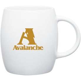 Matte White Joe Ceramic Mug for Your Church