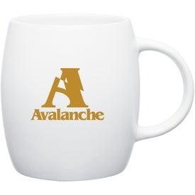Matte White Joe Ceramic Mug for Your Church