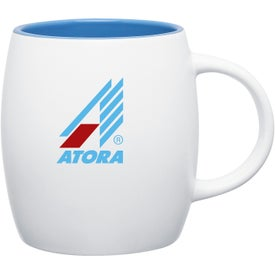 Matte White Joe Ceramic Mug for Your Organization