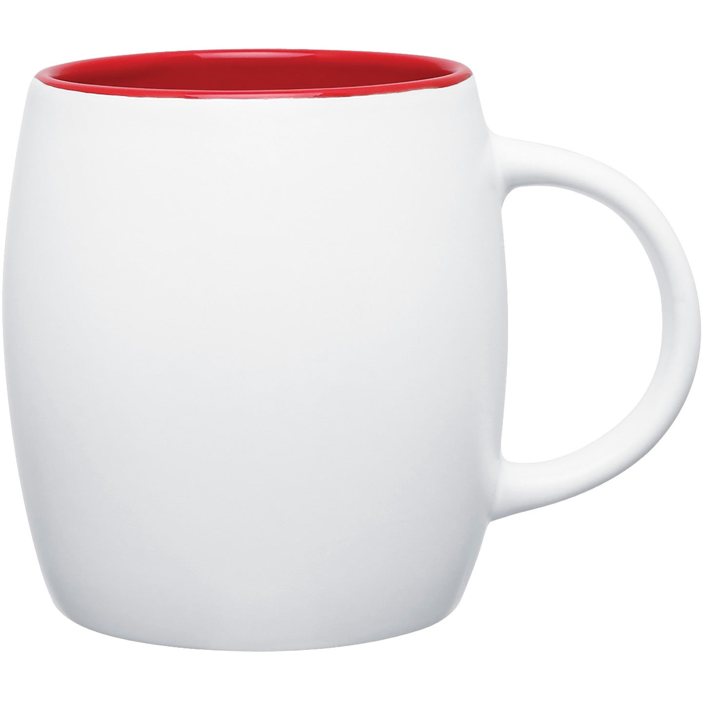 Promotional 14 Oz Matte White Joe Ceramic Mugs With Custom Logo For 3 68 Ea