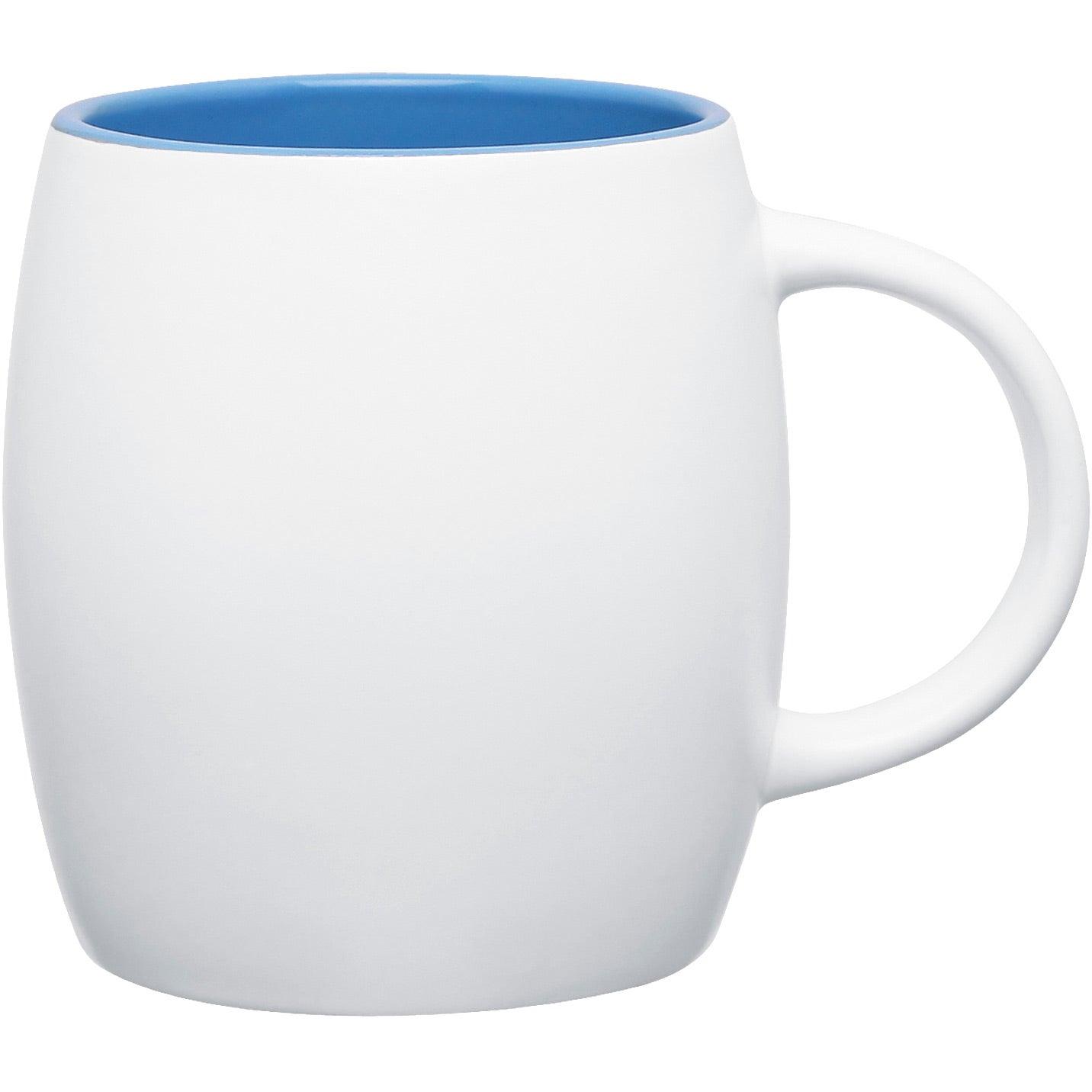 Matte White Joe Ceramic Mug 14 Oz Custom Ceramic Mugs