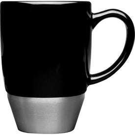 Maui Stainless Steel Base Ceramic Mug (16 Oz.)