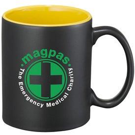 Maya Ceramic Mug Branded with Your Logo
