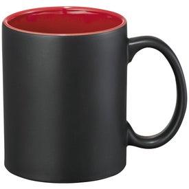 Maya Ceramic Mug Imprinted with Your Logo