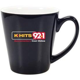 Printed Mini Latte Ceramic Mug
