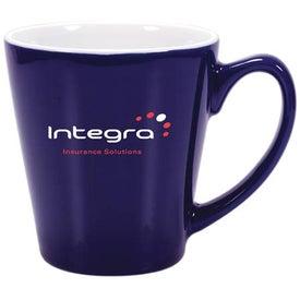 Logo Mini Latte Ceramic Mug