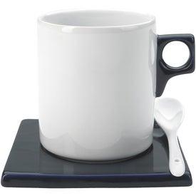 Monte Carlo 3 Piece Mug Set with Your Slogan