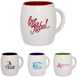Morning Show Barrel Mug (14 Oz.)