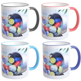 Mugs with Colored Accent (11 Oz.)