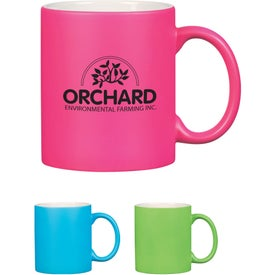 Neon Mug With C-Handle (11 Oz.)