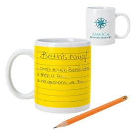 Notepad Mug (11 Oz.)