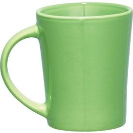 Palms Ceramic Mug with Your Logo