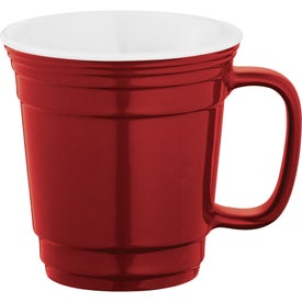 Party Ceramic Mug Branded with Your Logo
