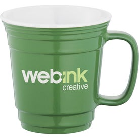 Party Ceramic Mug Imprinted with Your Logo