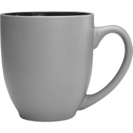 Pop Out Bistro Two Tone Coffee Mug (16 Oz.)