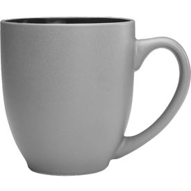 Pop Out Bistro Two Tone Coffee Mugs (16 Oz.)