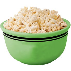 Popcorn Bowl Imprinted with Your Logo