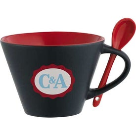 Logo The Rancho Mug with Spoon